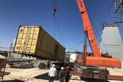 Транспортировка контейнера с руфтопами Dunham-Bush