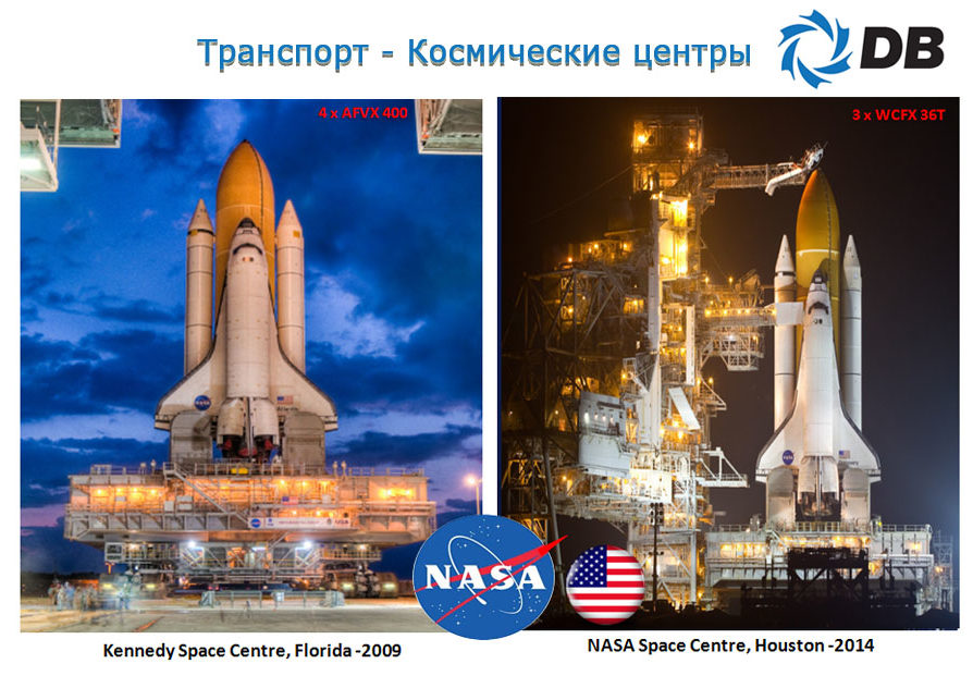 Проекты Danham-Bush космические центры