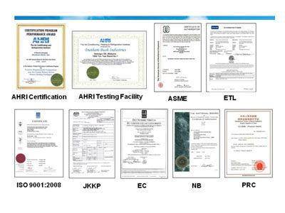 Сертификаты качества DANHAM-BUSH