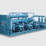 Низкотемпературная промышленная холодильная машина Dunham-Bush для ледового катка
