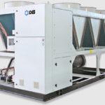Холодильная машина Dunham-Bush воздушного охлаждения с винтовым компрессором и тепловым насосом, серия ACXHP-R