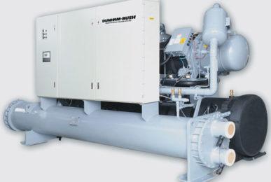 Холодильная машина водяного охлаждения с полугерметичными компрессором Серия HXWC
