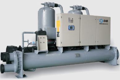 Dunham-Bush водяного охлаждения с винтовыми компрессорами Серия WCFX-E