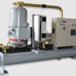 Холодильная машина водяного охлаждения с винтовыми компрессорами, Серия WCFX-EV