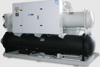 Холодильная машина водяного охлаждения и винтовыми компрессорами, серия WCFX-Extend