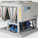 Холодильная машина Dunham-Bush воздушного охлаждения со спиральным компрессором, серия ACDS