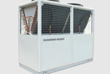 Холодильная машина Dunham-Bush воздушного охлаждения со спиральными компрессорами и тепловым насосом, серия ACDSHP-H