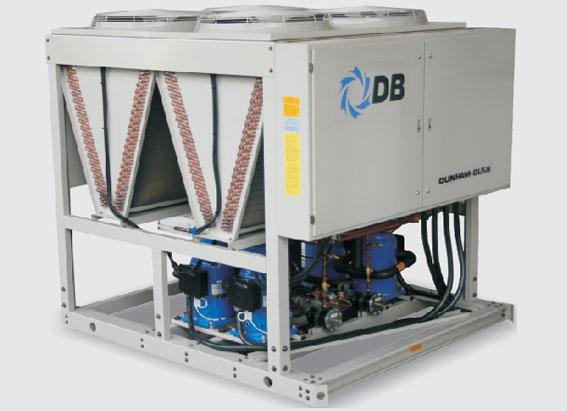 Чиллер с воздушным охлаждением Dunham-Bush со спиральными компрессорами