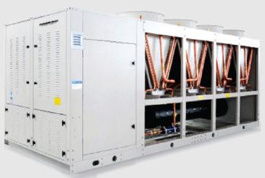 Холодильная машина Dunham-Bush воздушного охлаждения с винтовым компрессором, серия ACDX