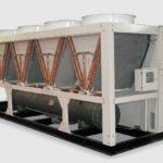 Холодильная машина Dunham-Bush воздушного охлаждения с винтовым компрессором, серия AFVX-B