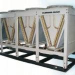 Холодильные машины с винтовым компрессором и выносным конденсатором, серия AVX-AQ