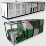 Мобильная энергоустановка Dunham-Bush с дизельным генератором и холодильной машиной, серия ACPSB-125-380 PQP