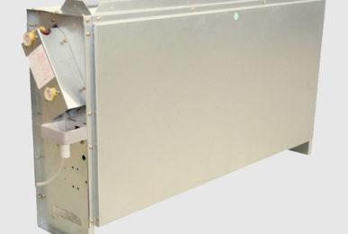 Фанкойл Dunham-Bush для напольного монтажа в вертикальном исполнении, серия CR-FB