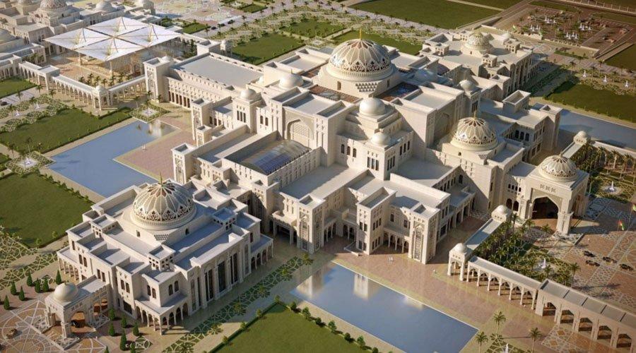 «Президентский Отель» (под управлением сети Kempinski, Emirates Palace), Абу-Даби, ОАЭ