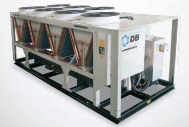 Чиллер с воздушным охлаждением и винтовым компрессором - AVX-B-SR