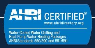 сертификат чиллера WCHX-A (водоохлаждаемый чиллер с горизонтальным компрессором Dunham-Bush)