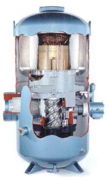 винтовой компрессор как работает